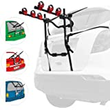 Bike Cycle Rear Mounted Carrier Rack AUSELECT 3 Bicycle Trunk Mount Rear Racks For Car SUV Universal Carrier -Sedan…