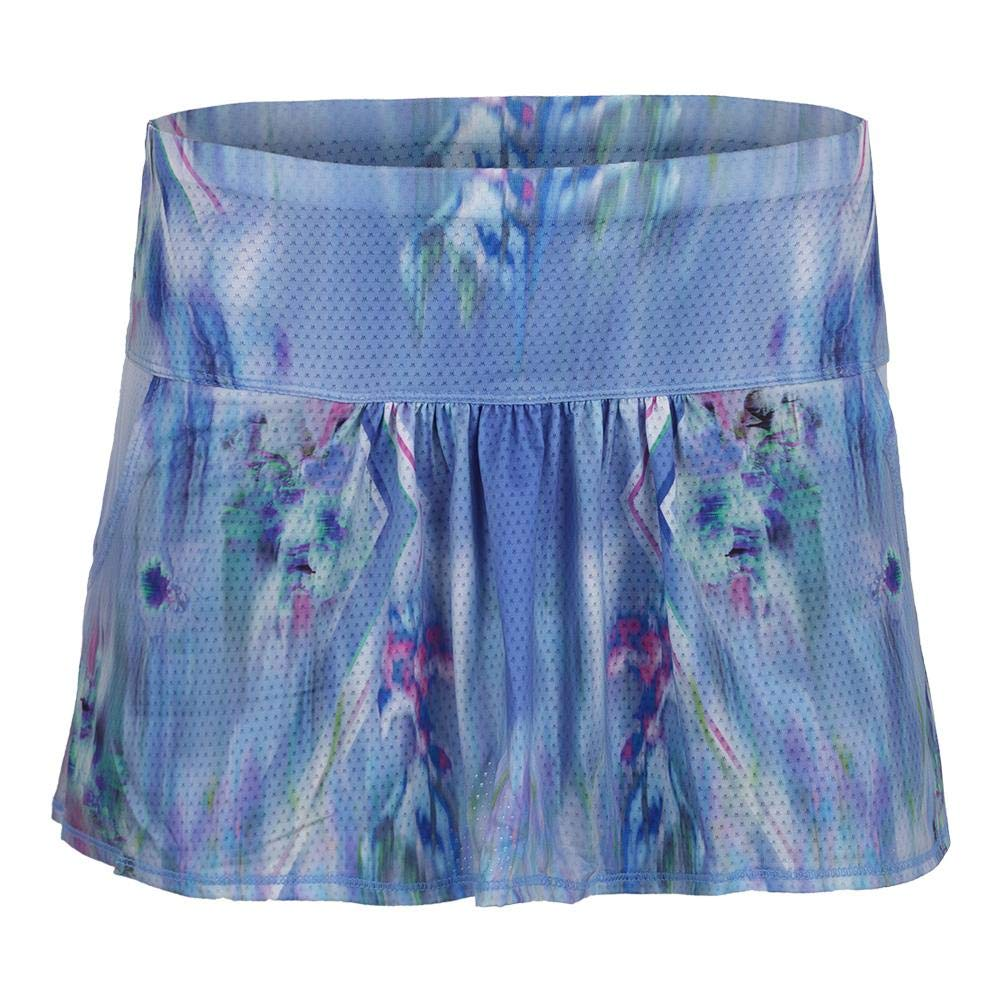 9c42550e2e Amazon.com: Lucky In Love-Women`s Pocket Tennis Skort Floral Fantasy-():  Clothing