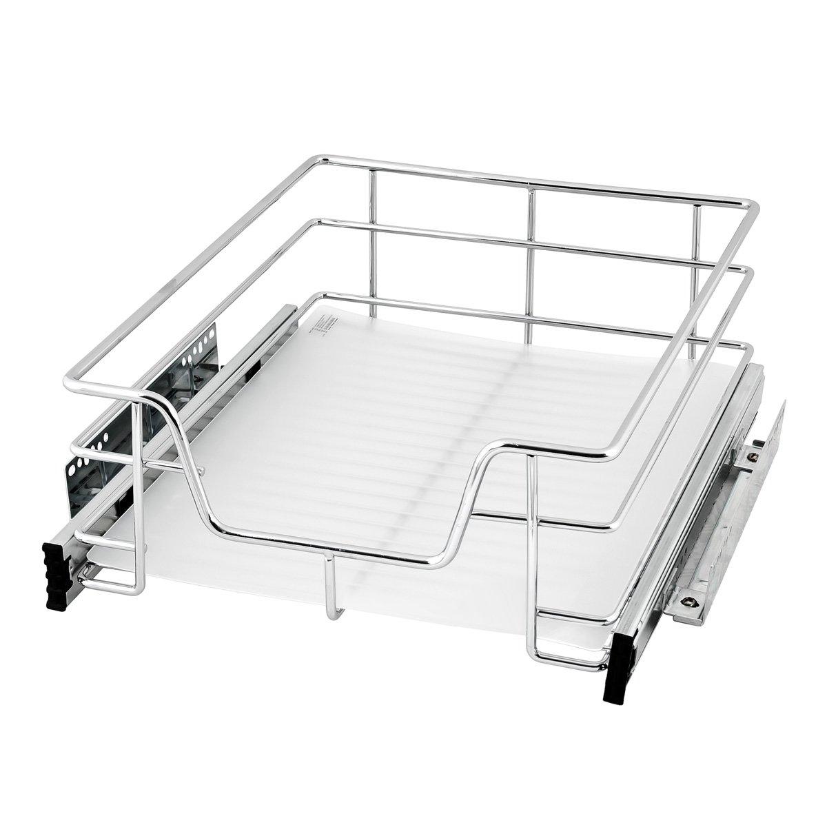 bremermann® Teleskopschublade, Küchenschublade mit Einlegeboden, 45 ...