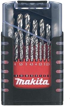 Makita D-29941 - Estuche de brocas cilíndricas HSS para metal: Amazon.es: Bricolaje y herramientas