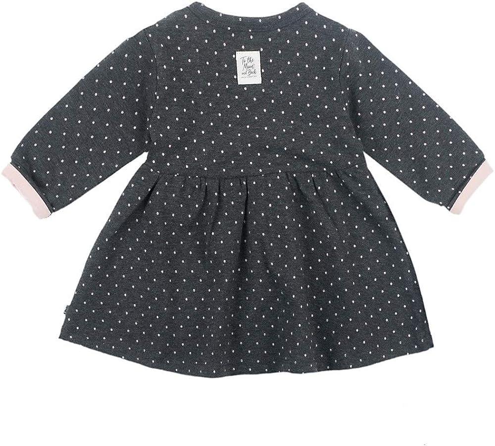 Feetje Baby-M/ädchen Kleid Langarm mit Punkte-Allover