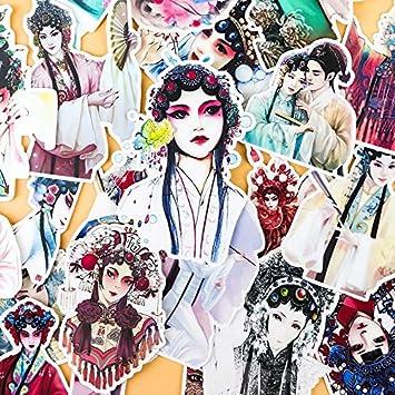Amazon.com: 24 pegatinas decorativas para álbumes de ...