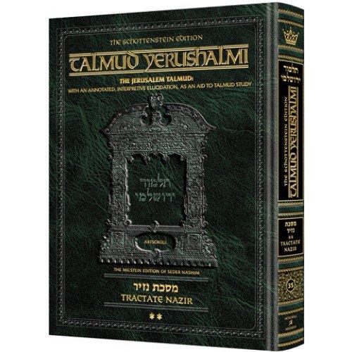 Read Online Schottenstein Talmud Yerushalmi - English Edition [#35] - Tractate Nazir Vol 2 ebook