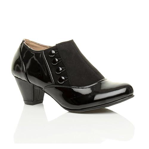 Chaussures à fermeture éclair Ajvani noires femme PrsGdFAQ