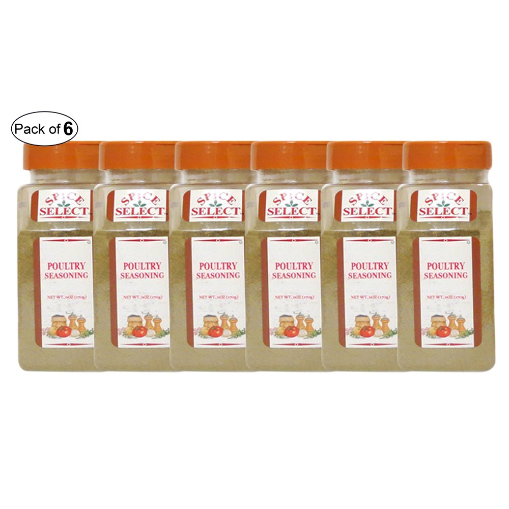 Spice Select- Poultry Seasoning (170g) (Pack of 6) by Spice Select ®