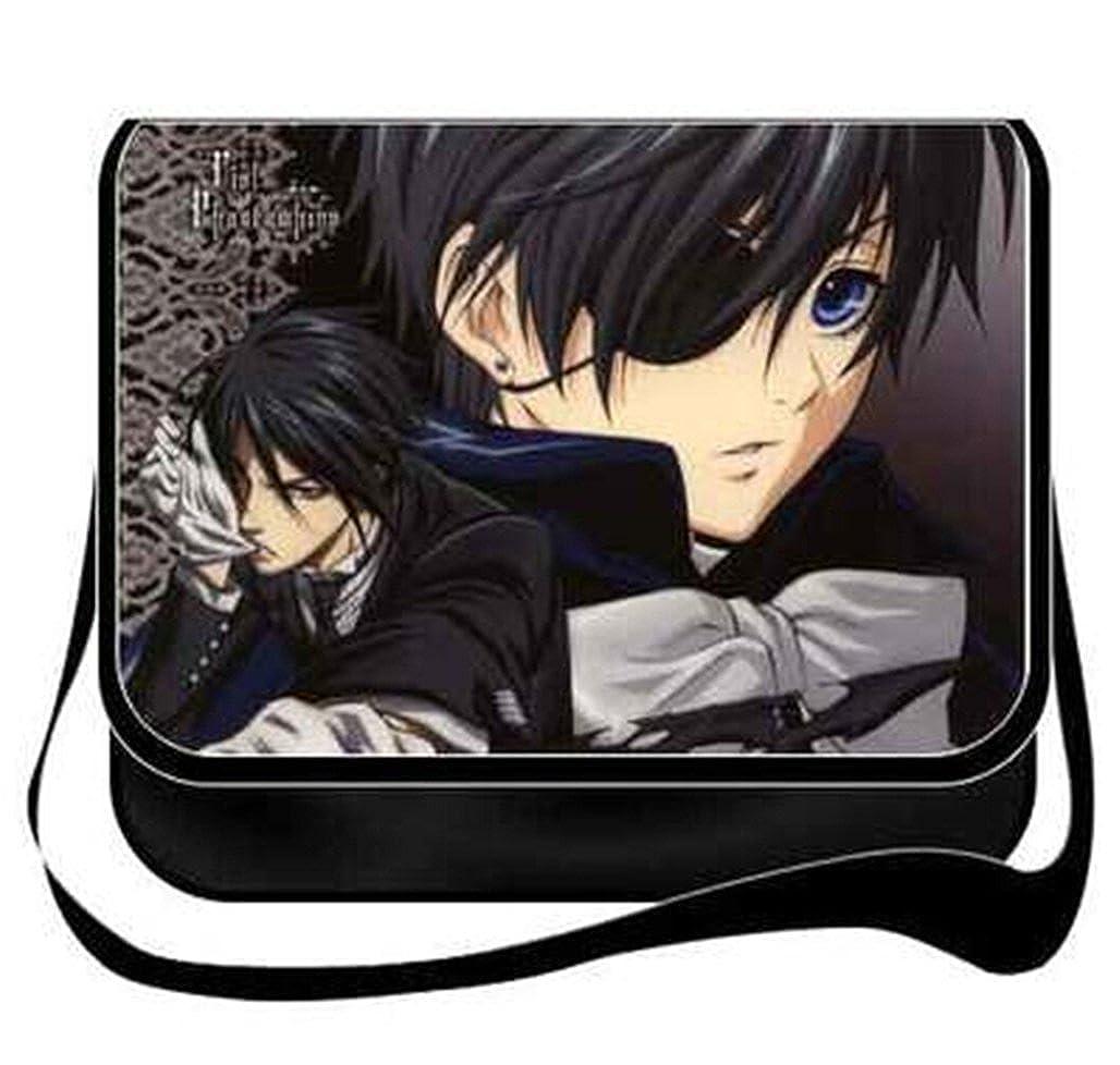 Gumstyle Black Butler Anime Cosplay Handbag Messenger Bag Shoulder School Bags
