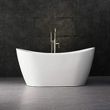Brushed Gold WOODBRIDGE B0016-BG-Drain /&O Bathtub