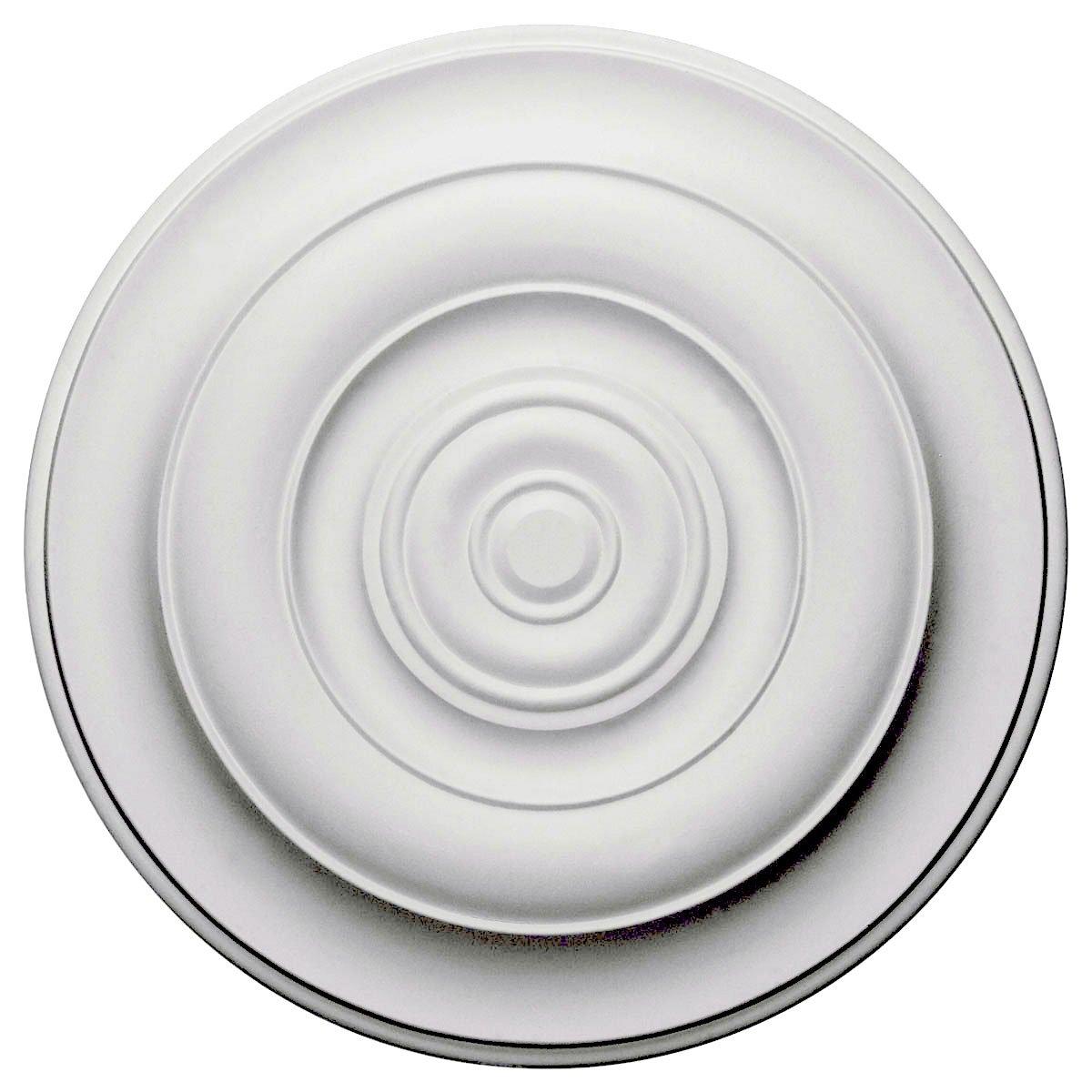 Ekena Millwork CM18NI 18-Inch OD x 2 3/4-Inch ID x 1 1/2-Inch Niobe Ceiling Medallion