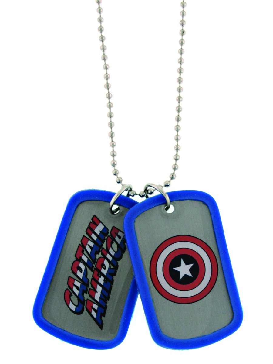 Jewel M M M Captain America Double-Sided Dog Tag 8378a9