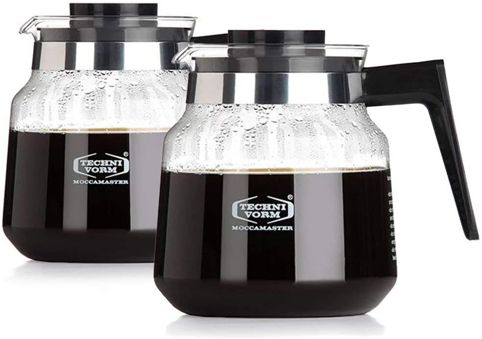 for KB Brewers Technivorm Moccamaster 59835 1.25L Glass Carafe