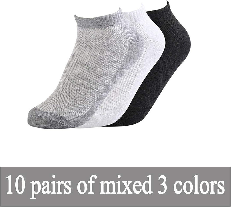 Summer Hot Sale Thin Men Socks Solid Mesh Ankle Socks Men Breathable Comfort Thin Boat Socks Size
