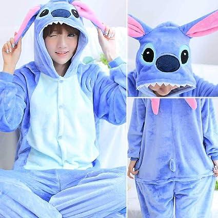 YOUXIWANG Unicornio Pijama Stitch Animal Adulto Mujeres ...