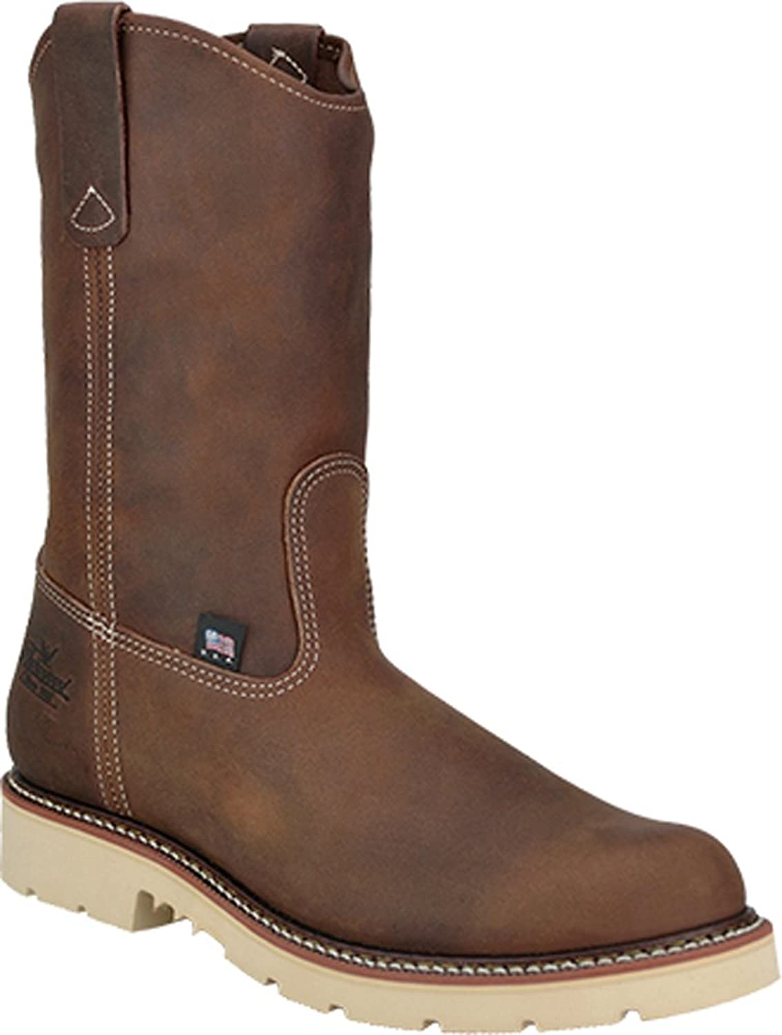 """Thorogood Men's 11"""" Wellington Non-Safety Leather Work Boots"""