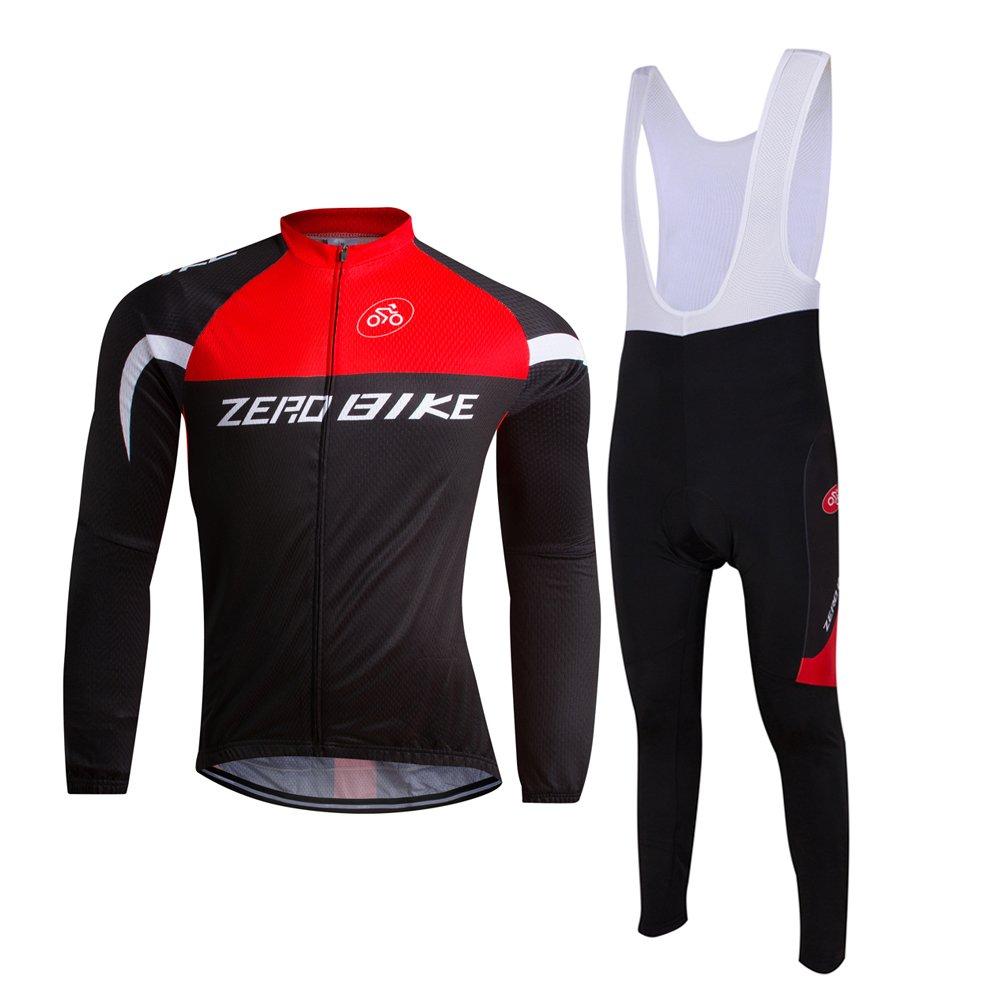 ZEROBIKE Women Mens Cycling Shorts Bicycle Bike Bib Pants