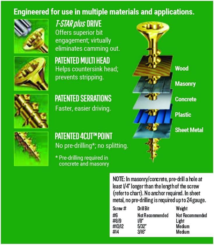 PRIMESOURCE 4191020000000 Wood-Screws