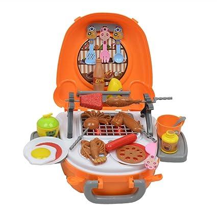 Amazon.com: UPMALL - Juego de parrilla de cocina, maleta ...