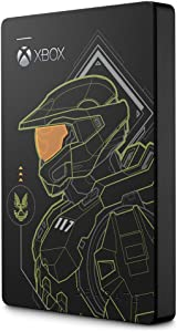 Seagate Game Drive for Xbox Halo - Master Chief LE 2TB External Hard Drive Portable HDD - USB 3.2 Gen 1 Designed for Xbox One, Xbox Series X, and Xbox Series S (STEA2000431)