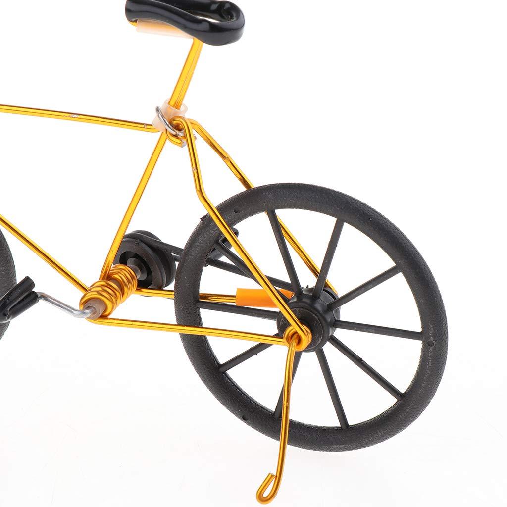 Rose B Blesiya 1:10 Mini Bike Mod/èle Jouet pour Enfants et Adultes en M/étal Jouet Doigt Mod/èle de Bike Gadgets Cadeau pour Collectionneur