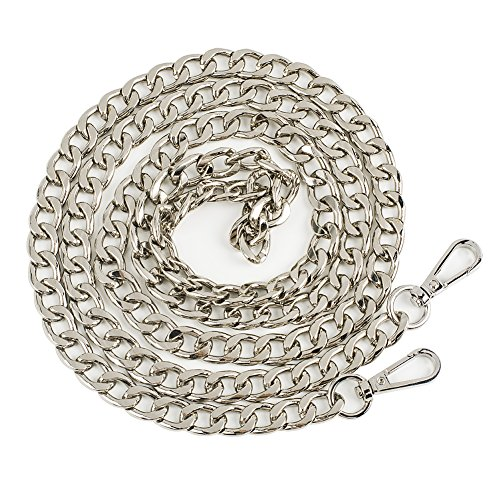 Myathle 12MM Width Purse Chain Strap Replacement Length 39