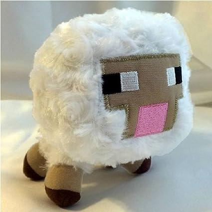 Peluche con forma de oveja de Minecraft para bebé.