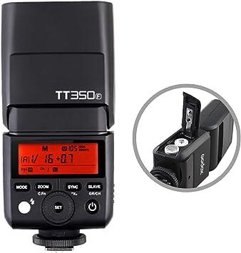 GODOX TT350F 2.4G HSS 1//8000s TTL GN36 Camera Flash Speedlite for Fuji Digital Camera