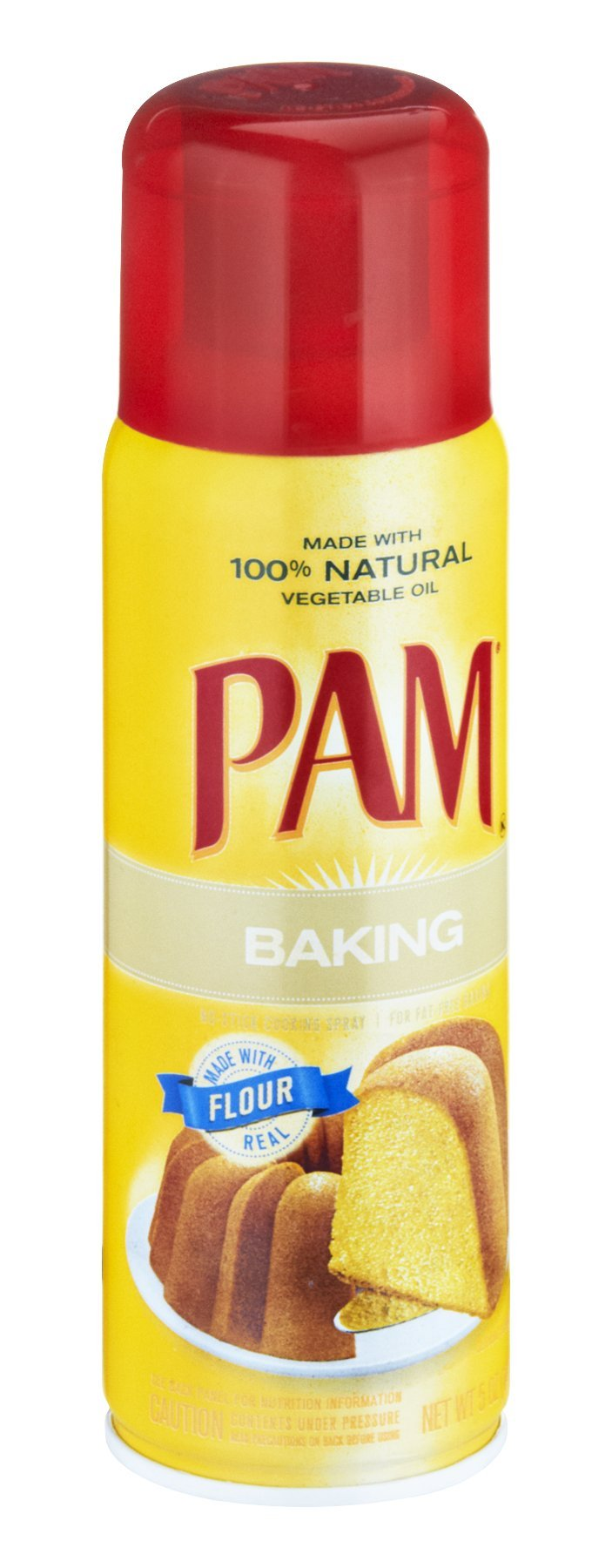 Pam Baking No-Stick Cooking Spray 5 OZ (Pack of 24)