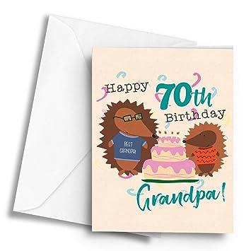 Happy 70th Birthday Grandpa