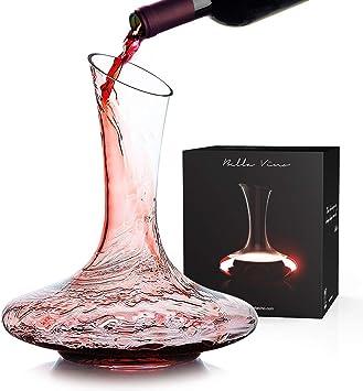 1.2L Rot Wein Karaffe WOQO Wein Dekanter Kristallglas Wein Karaffe