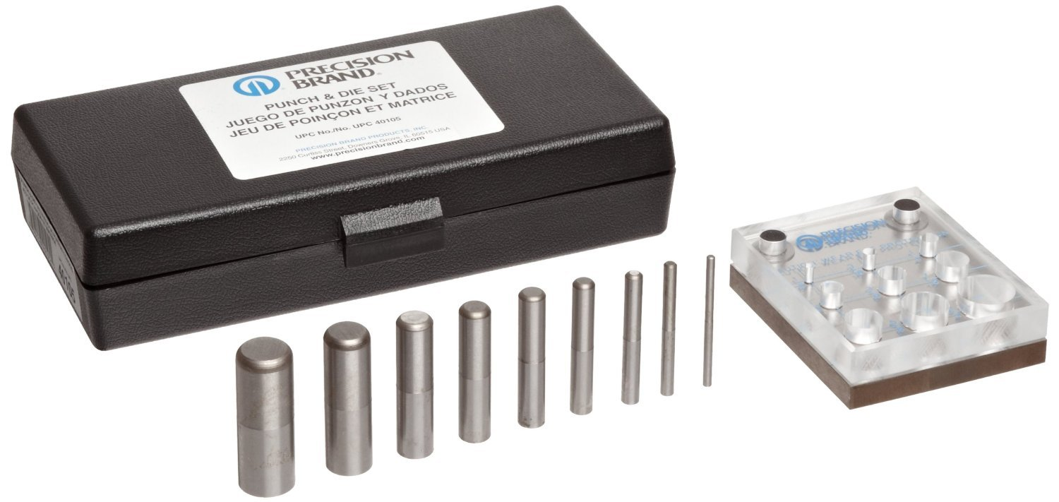 Precision Brand Punch and Die Set by Precision Brand