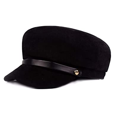 254b9570304 YaWindYa Womens Ladies Corduroy Beret Cap Newsboy Cap Baker Boy Caps  Fiddler Cap Braid Cap Greek