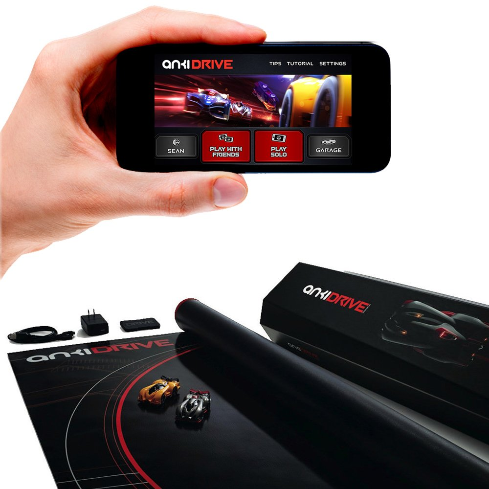 Anki Drive Starter Kit Previous Version Toys Games 2010 8 7 Rc Drift Real Circuit Youtube