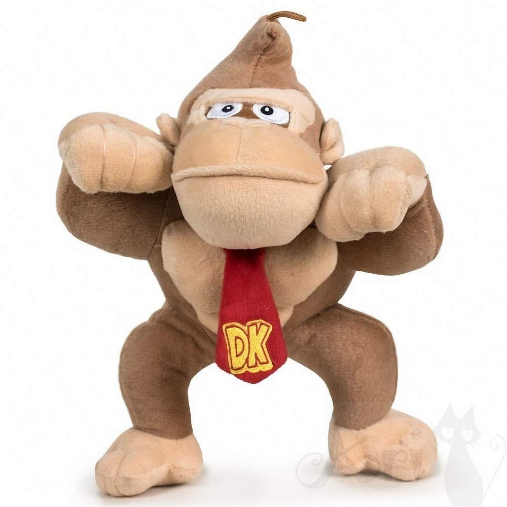 Super Mario Bros Peluche Gorila Donkey Kong 30cm