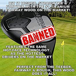 #1 World's Longest Illegal Huge Distance Custom Titanium Fairway Woods #3 or #5