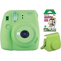 Fujifilm Instax Mini 9 Lime Green Kit (camera, film 10 vellen, tas)