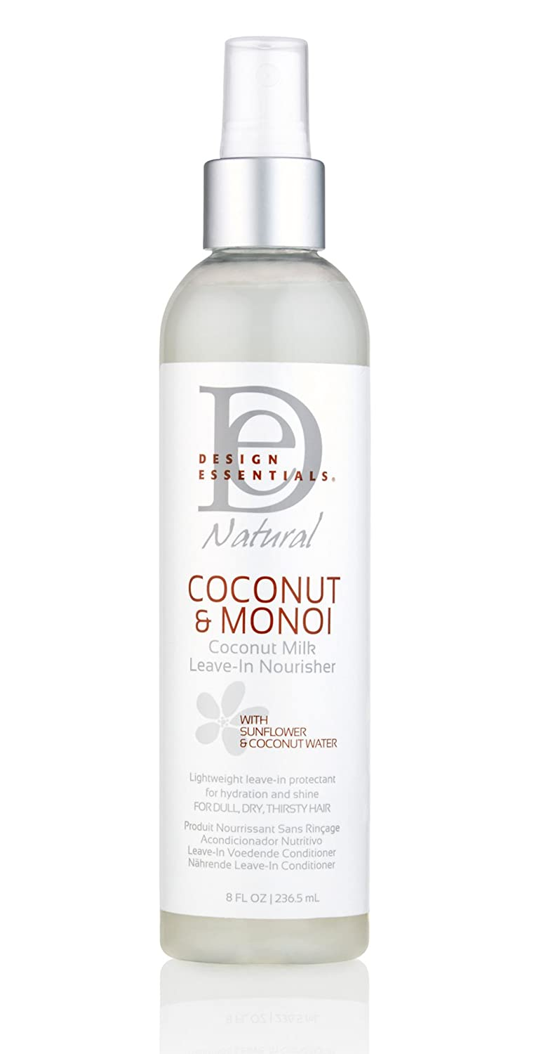 Amazoncom Design Essentials Coconut Monoi Nourishing Leave In