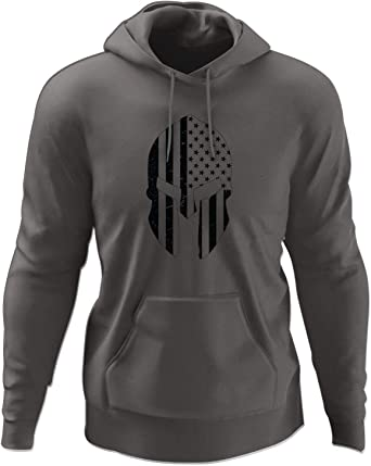 Mens All Reps Matter Long Sleeve Hooded Sweat Shirt Pullover