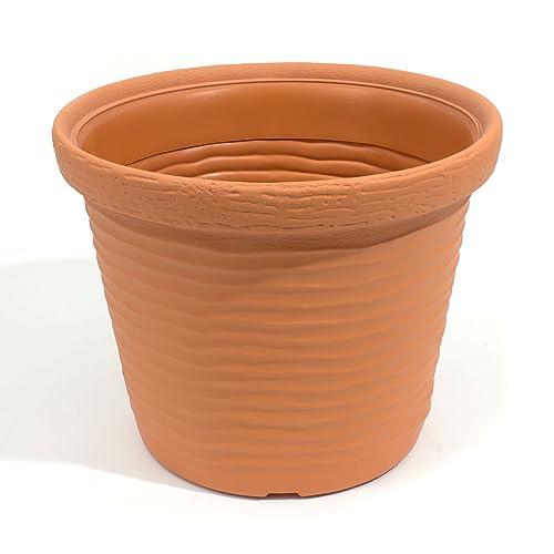 Terra Vera Flowerpot 50 Cm, Terracotta