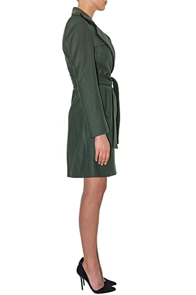 Vêtements Cachemire En Renoma Stefanie Vert Redingote Et Z1q7nxFv