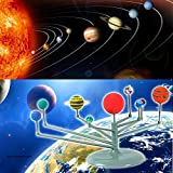 Dinglong Simulation Solar System Planetarium Model Kit Children's Science Educational Toys - Age Over 8 Year Old Child Toys