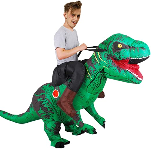 Asitlf Disfraz Inflable, Disfraz de Dinosaurio Inflable Disfraz de ...