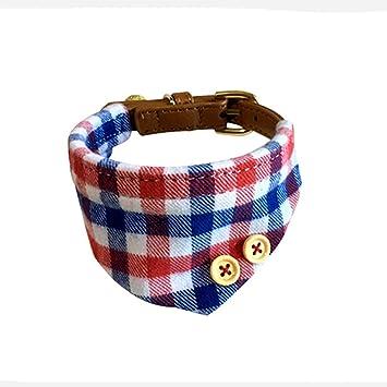 Yonfan Hundehalsband mit Tuch Verstellbar Hund Halstuch Halsband für ...