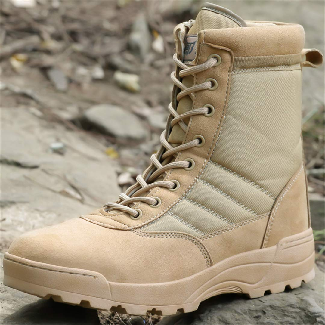 f893cda20c050 Amazon.com: DengSha Outdoor Winter Trekking Boots Men Desert ...