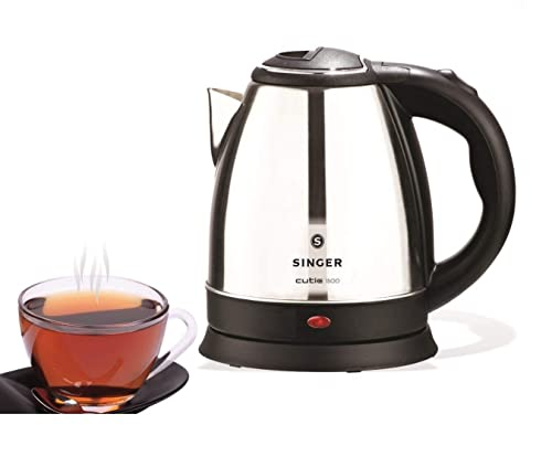 1.Singer Cutie Stainless Steel Electric Kettle