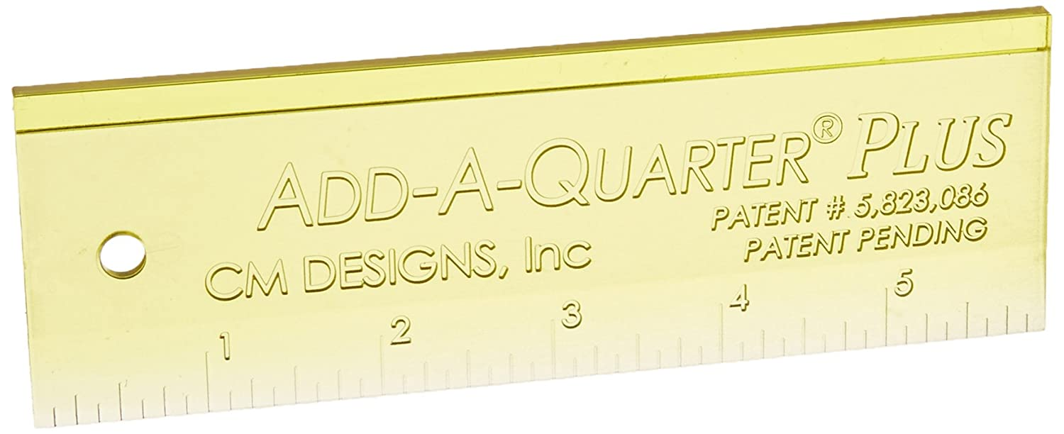 CM Designs CMD20006 Ruler Add-A-Quarter Plus, 6