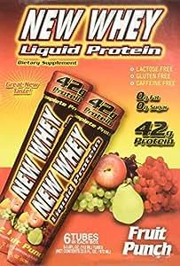 Amazon.com : New Whey 42g Liquid Protein Drinks: Fruit