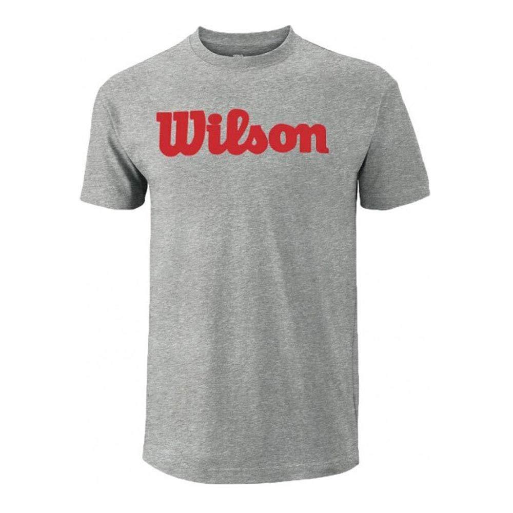Herren Herren W Script Cotton WILSON W Skript Cotton Tennis Shirt