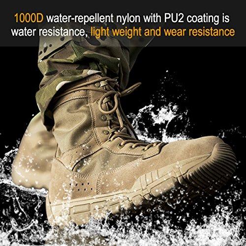 Chaussures randonn SOLDIER Tactiques FREE de de Patrouille Militaires Hommes Bottes fgwxqS6Fn