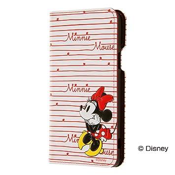 da7a5cbd38 レイ・アウト Qua phone PX ケース ディズニー 手帳型 ポップアップ カーシヴ/ミニー RT-