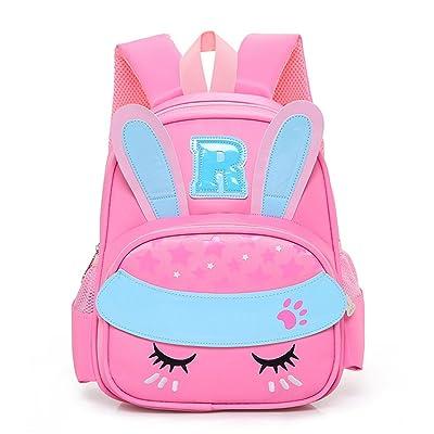 good Girls Rabbit Backpack Cute Animal Bunny School Bag Children Preschool  Bookbag 5babcdb0c08ca