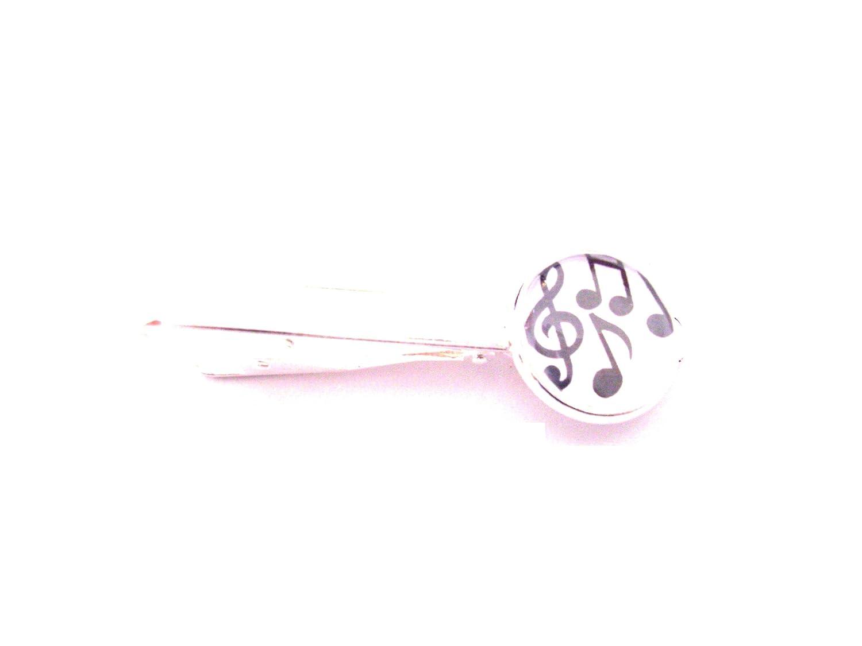 Clip de corbata: grandes notas de la música en S/P Clip de corbata ...